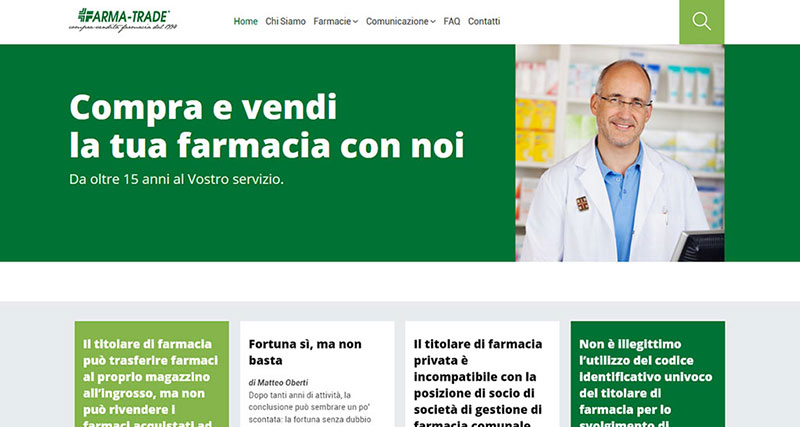 Web Designer per Farma-Trade